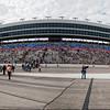 Panorama of Texas Motor Speedway. Taken from pit area