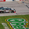 Dale Earnhardt Jr entering pit lane during NASCAR AAA Texas 500 @ Texas Motor Speedway