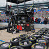 Dale Earnhardt Jr pit area before NASCAR AAA Texas 500 @ Texas Motor Speedway