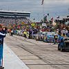 Cars lined up before the NASCAR AAA Texas 500 @ Texas Motor Speedway