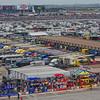 Garage area and trailers NASCAR AAA Texas 500 @ Texas Motor Speedway