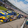 Martin Truex Jr  (#56) before NASCAR AAA Texas 500 @ Texas Motor Speedway