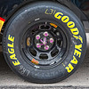 Close up of tire on car NASCAR AAA Texas 500 @ Texas Motor Speedway
