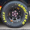 Close up of tire on car NASCAR AAA Texas 500 @ Texas Motor Speedway