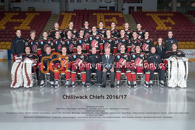 Chiefs Team Shoot