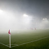 Prior to the game, a thick cloud of smoke covered the field. Creating a somewhat epic way to start the first home game of the season. Portland defeated Chicago 4-2 in the rain at the home opener at Jeld-Wen Field in Portland, Oregon