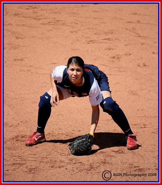 Andrea Duran<br /> USA Softball 2008