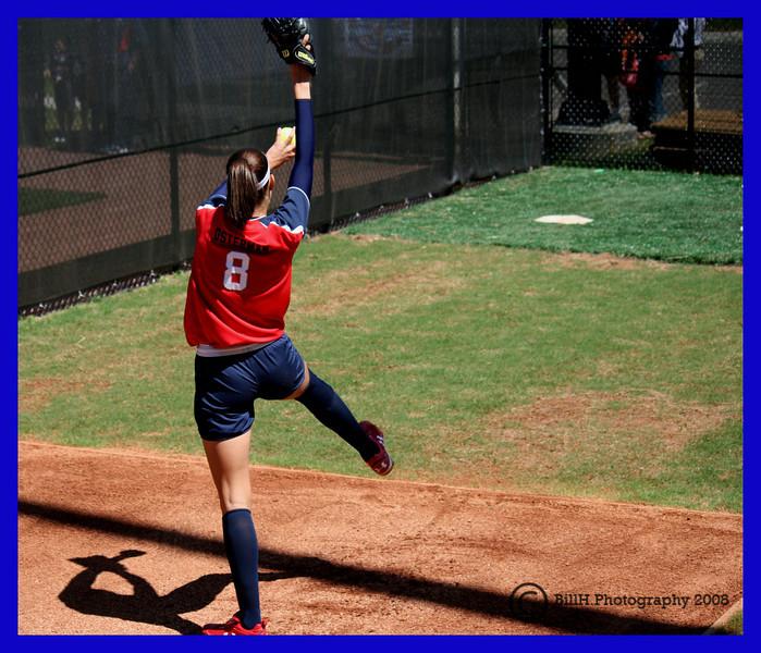 Cat Osterman <br /> USA Softball 2008