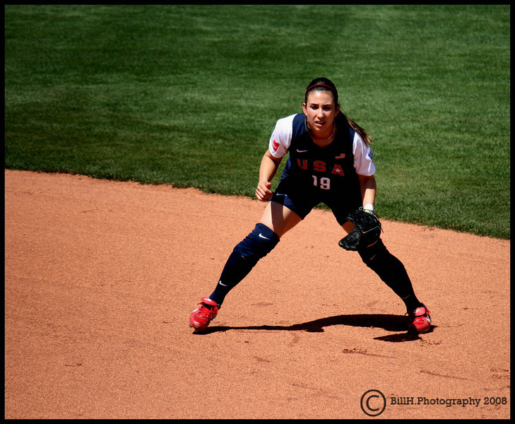 Vicky Galindo<br /> USA Softball 2008