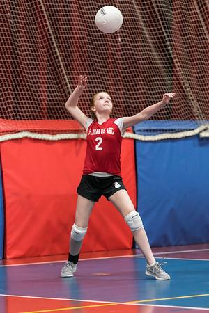 SJA 8th-Grade Girls B Volleyball_070