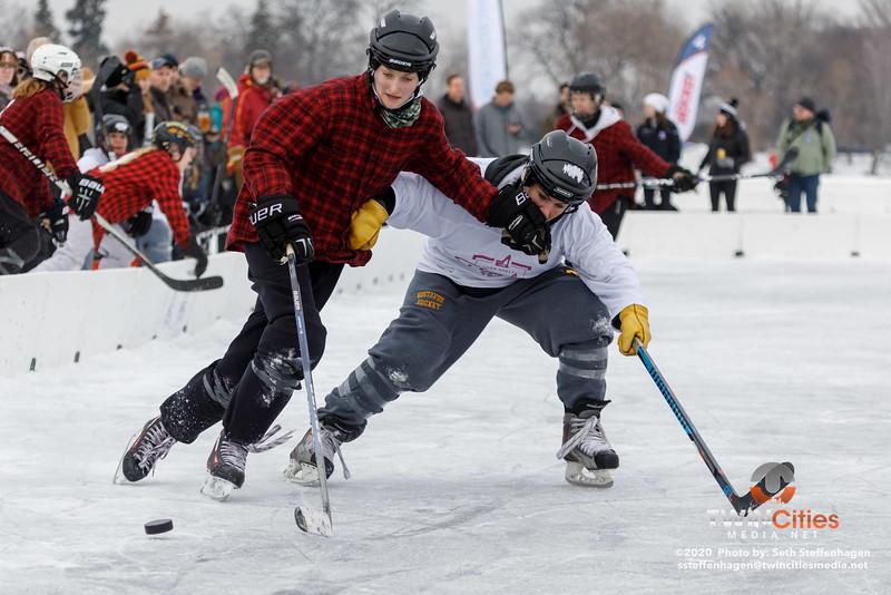 U.S. Pond Hockey Championships:  Top Shelf Tricks vs Consistently Cuatro - January 26, 2020
