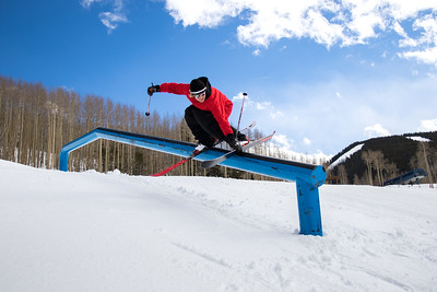 Taylor Seaton, Golden Peak, Vail Colorado