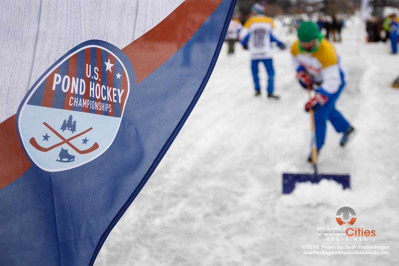 U.S. Pond Hockey Championships:  January 25, 2020