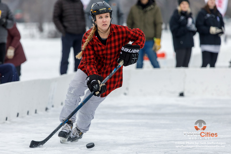 U.S. Pond Hockey Championships:  Top Shelf Tricks vs Consistently Cuatro - January 26, 2020