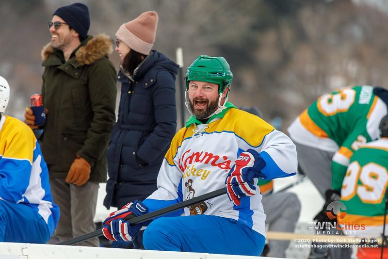 U.S. Pond Hockey Championships:  January 25, 2020