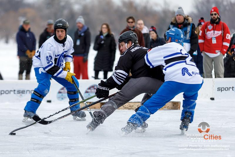 U.S. Pond Hockey Championships:  RJ Ryan Construction vs Hendy Homes Tail Gators - January 26, 2020
