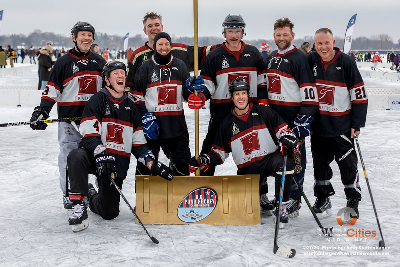 U.S. Pond Hockey Championships:  Tradition Mortgage vs Wright Homes/4 Star - January 26, 2020