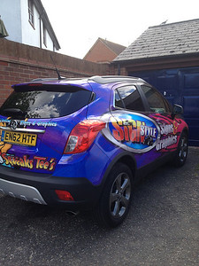 Mokka Full Printed Wrap by Mark Hughes