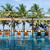 The pool at our hotel in Negombo