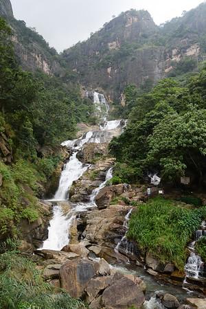 Les cascades près de Ella