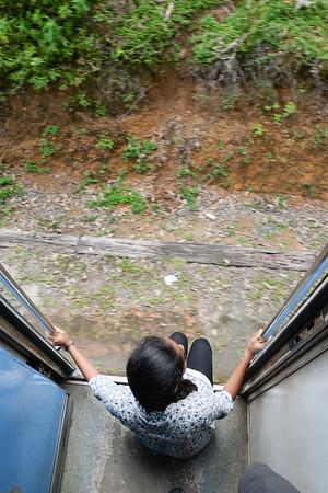 Scènes de vie durant le parcours en train entre Ella et Nurawa Eliya