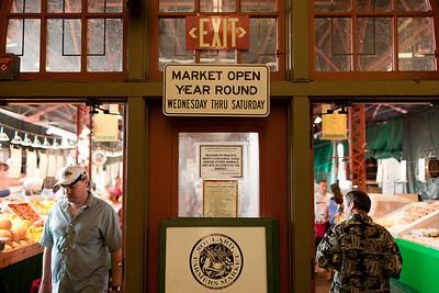 Soulard Farmer's Market, St. Louis