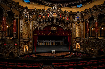 Fox Theater Stage