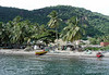 Fishermen at Anse la Raye (village) - western coast of the island