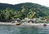 Fishermen at Anse la Raye (village) - western coast of the island