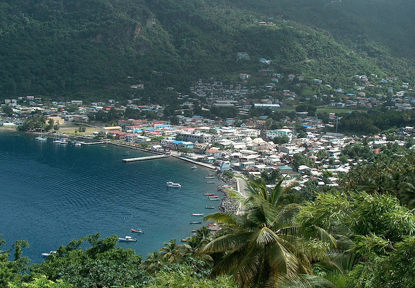 Soufrière Bay - in 1746, the town was officially recognized by France, as Saint Lucia's first town
