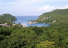 Marigot Bay - western coast - Castries, quarters