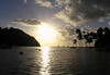 Sunset at Marigot Bay - Castries, quarters