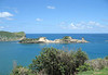 Dennery Island at the mouth of Dennery Bay - eastern coastline of the island
