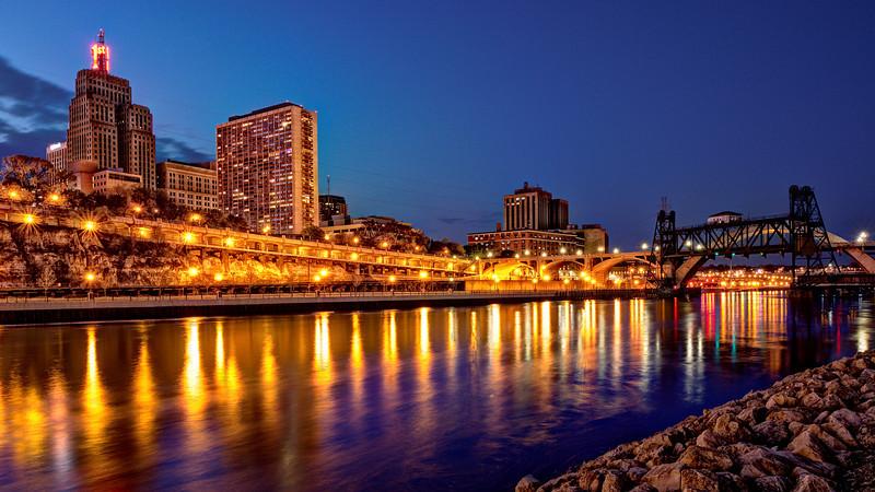 Golden St. Paul Riverfront
