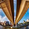 Wabasha Street Bridge-Fisheye