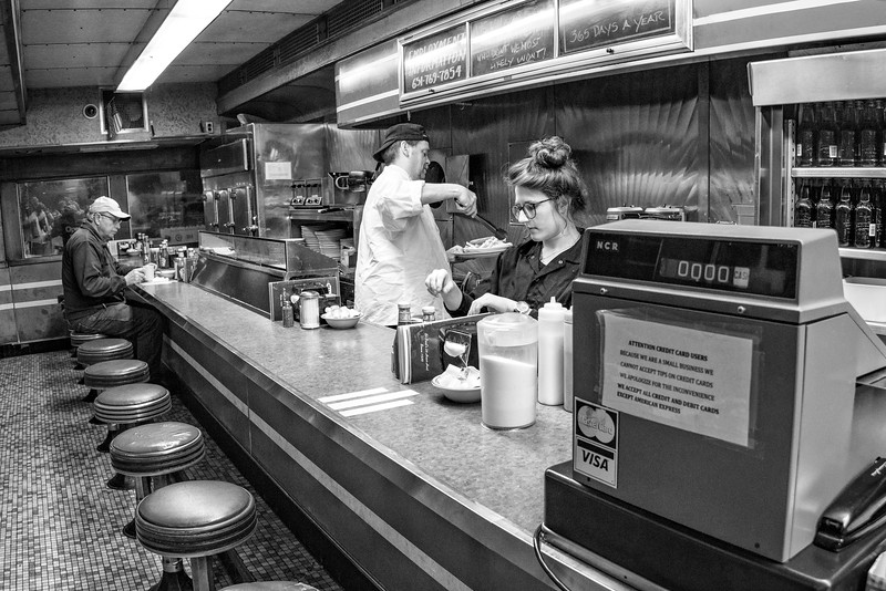 Dinner Time at Mickey's Diner-1