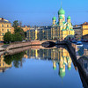 Canals in St. Petersburg, Russia