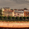 St. Petersburg, Russia-Panoramic