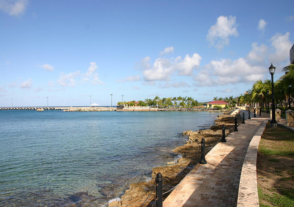 """Frederiksted - established in 1751 - also know as the """"freedom city"""", for in 1843 the emancipation of slaves was proclaimed on the waterfront in this west coast town (emancipation of slavery was not until 1863 in the U.S. - during the Civil War)"""