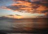 Dorsch Beach sunset - western coastline of the island