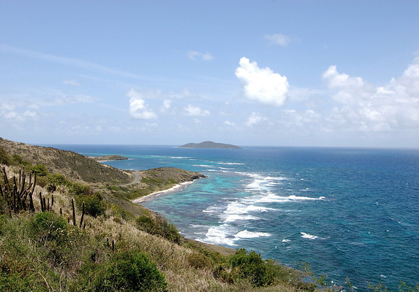 Beyond Boiler Bay - to Cottongarden Point - and Buck Island, about 1.5 mi. (2.4 m) off the northeastern coast of St. Croix