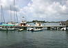 Beyond the dock at Christiansted Harbor - out to Protestant Cay