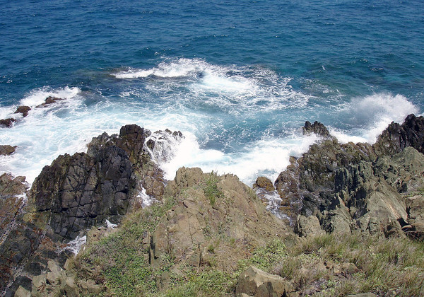 Point Udall - the eastern most point of all U.S. territory - which is slightly southern (15.45 N) when compared with the southern most point (18.91 N) of the U.S. 50 states, that being Ka Lae (The Point) which is located on the Big Island Hawaii