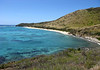 Boiler Bay - the northeastern end of St. Croix - viewing along the beach to Point Udall (the eastern most point in the USA)
