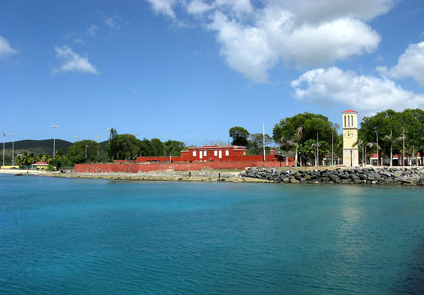 Fort Frederik - built by the Danish in 1760 - town of Fredericksted, on the western coast of the island