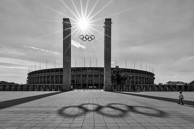 Olympiastadion. Berlin, Germany.