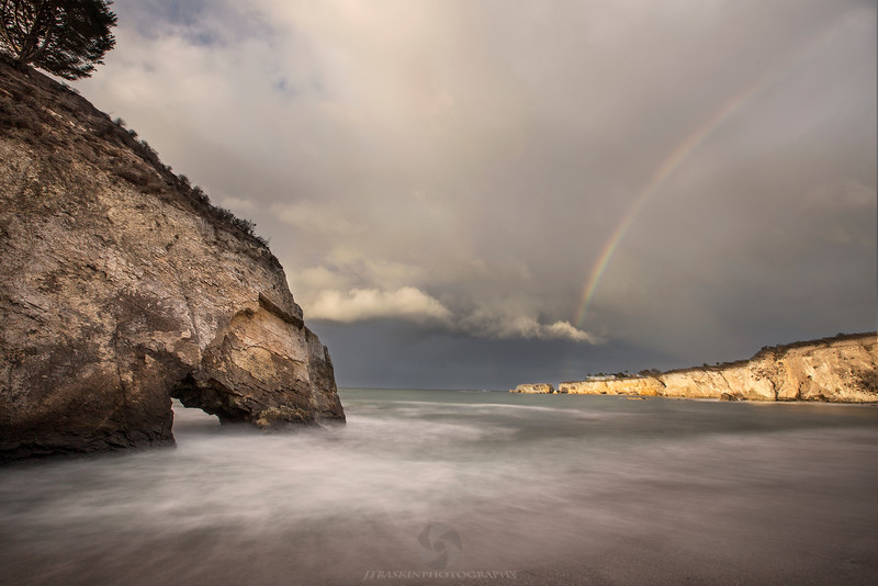 Dinosaur Caves Rainbow - Shell Beach, CA<br /> <br /> IMG_1599