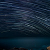 Star Trail over the Pacific from Twin Bush.