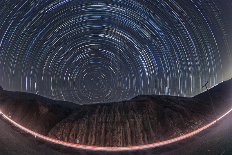 Star Trails at Twin Bush