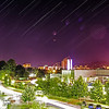 Star Trail over Tuzla